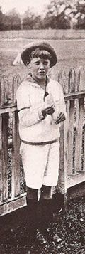 The six-year-old John Jacob Astor VI, born four months after his father perished on the Titanic.