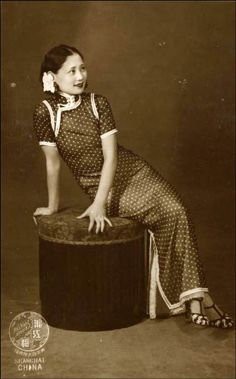 1930上海的旗袍秀_旗袍吧_百度贴吧