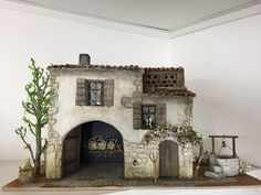 Miniature Crafts, Miniature Houses, Fantasy Town, Mountain Village, Portal, English House, 3d Max, Miniture Things, Little Houses