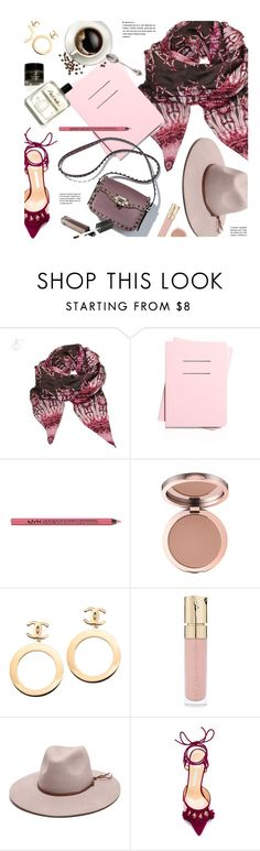 """""""Essentials"""" by monmondefou ❤ liked on Polyvore featuring Shinola, Charlotte Russe, Chanel, Smith & Cult, Gottex, Bionda Castana, purple and burgundy"""