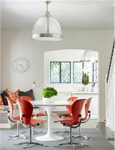 Contemporary (Modern, Retro) Dining Room by Emily Summers