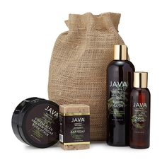JAVA Coffee Infused Skincare Body Collection 1