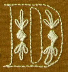 Posie: Rosy Little Things — Daisychain ABCs Crewelwork Sampler Pattern