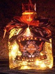 A Serendipity Spirit Bottle: Harley-Davidson