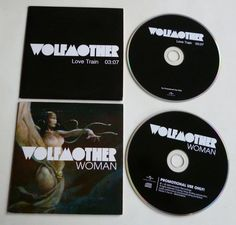 2 CD singles / WOLFMOTHER / WOMAN / LOVE TRAIN / 2006