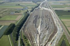 classification yard Kijfhoek Zwijndrecht the Netherlands [40642704]