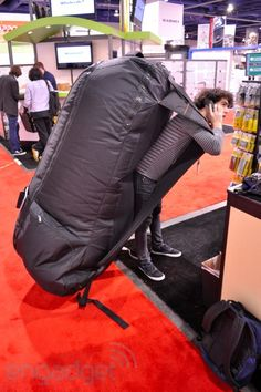 This should be my bug out bag! Think there's room for a hair dryer?