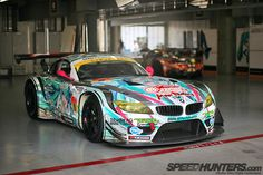 BMW Z4 GT3 which races in the GT300
