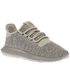 womens adidas beige tubular shadow knit trainers Beige Trainers 5cc46048f46a2
