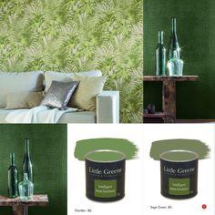 Peinture Little Greene - Orange Aurora & Basalt #paint #bedroom ...