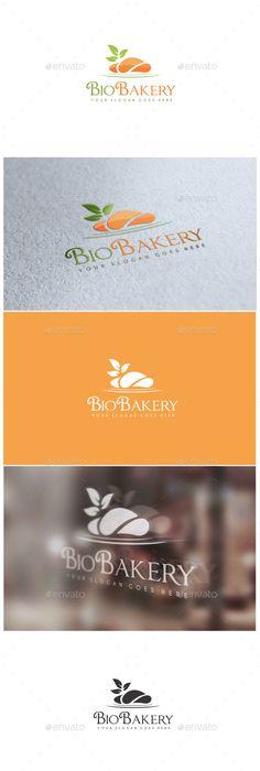 Bio Bakery Logo http://graphicriver.net/user/ms_designer/portfolio?ref=MS_designer