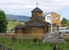 Monastery of The Holy Archangels, Levin, New Zealand. New Zealand, Cabin, House Styles, Travel, Home Decor, Viajes, Cabins, Traveling, Cottage