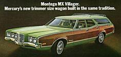 1972 MERCURY MONTEGO MX VILLAGER