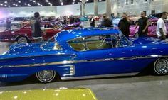 58 Impala shot baller.... 1958 Chevy Impala, South California, Unique Cars, Lowrider, Hot Rods, Chevrolet, Pride, Mexican, Club