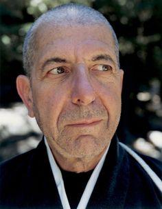 Leonard Cohen, Zen Mountain, California in 1995. Photo by Dana Lixenberg.