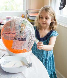 Make Giant Papier Mache Eggs