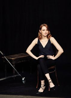 Emma Stone Photographed By Austin Hargrave for The Hollywood Reporter