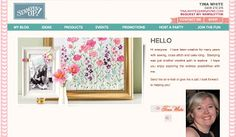 My Stampin' Up! Web Site