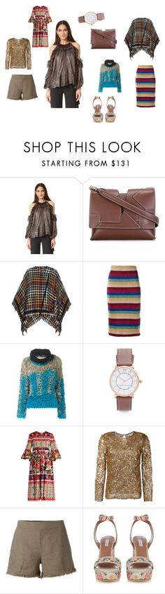 """""""untitled"""" by emmamegan-5678 ❤ liked on Polyvore featuring Maria Lucia Hohan, Jil Sander, Etro, Laneus, Issey Miyake, Marc Jacobs, Dolce&Gabbana, Yves Saint Laurent, Majestic Filatures and vintage"""