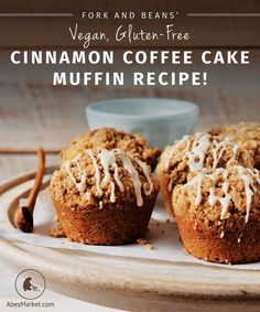 This simple, spicy recipe from vegan blogger Cara Reed's new book, Decadent Gluten-Free Vegan Baking, is so easy to make you'll be whipping them up for every occasion.  #vegan #glutenfree #recipe