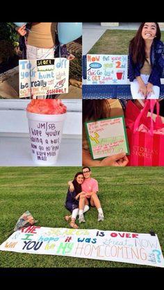 adorable homecoming proposal