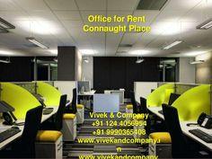 Office for rent connaught place delhi by vivek bhaskar via slideshare