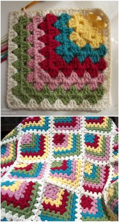 We have gathered a big list of that will really inspire you to make crochet Squares patterns with crocheting hooks.Mitered Granny Square inspiration blanket Crochet Squares Patterns To Create Blankets Crochet Squares Afghan, Granny Square Crochet Pattern, Afghan Crochet Patterns, Crochet Afghans, Crochet Granny, Crochet Motif, Easy Crochet, Crochet Stitches, Free Crochet