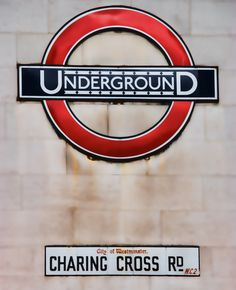 The Charing Cross Station, was my first time riding the subway in London...uh I mean the tube in London.