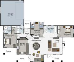 Monte Carlo 4 bedroom house plans Landmark Homes builders NZ ...