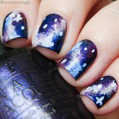 galaxy nails   AnnaBean