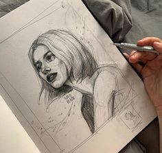 contain: 1 person, drawingImage may contain: 1 person, drawing ⠀⠀⠀⠀⠀⠀⠀⠀ 🌔 Just Artist 🌖 ( Cool Art Drawings, Pencil Art Drawings, Art Drawings Sketches, Realistic Drawings, Painting & Drawing, Watercolor Paintings, Person Drawing, Arte Sketchbook, Aesthetic Art