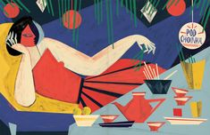 Rich and Strange: the Illustrations of Gosia Herba | AIGA Eye on Design