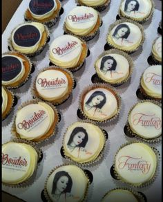 Delicious & gorgeous cupcakes made especially for the Fantasy by Cara Sutra launch party