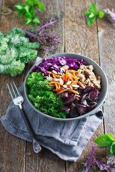 Beet Buckwheat Salad