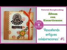 TUTORIAL: #3 Encuadernación con ESCARTIVANAS (Álbum Mi primera vez en el Zoo) - YouTube Mini Scrapbook Albums, Mini Albums, Youtube, Blog, Crafts For Kids, Attic, Videos, Scrapbooking, Book Binding