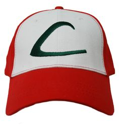 Pokemon Ash Ketchum Trainer Hat