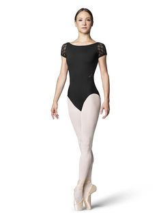 f06ed4402f Keyhole Back S S Women s Leotard L9912 by Bloch Ballet Clothes