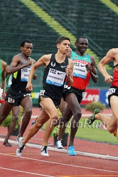 Matthew Centrowitz reppin The Oregon Project (Elite group coached by Alberto Salazar)