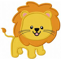 Instant Download Lion  Applique Machine by JoyousEmbroidery, $2.99