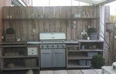 Outdoor kitchen Rivièra maison style