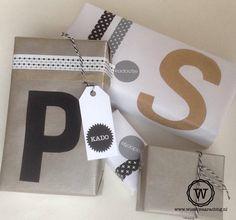 #sinterklaas #kado mooi inpakken met #letters.