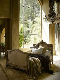 Grand French Bedroom!