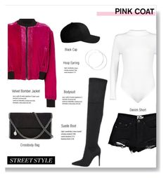 """""""Street Style"""" by brccz ❤ liked on Polyvore featuring Boohoo, County Of Milan, Kendall + Kylie, STELLA McCARTNEY and Flexfit"""