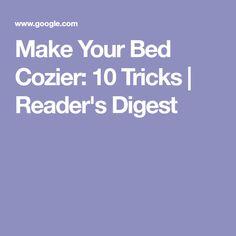 Make Your Bed Cozier: 10 Tricks | Reader's Digest