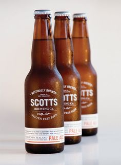 Scotts Brewing Co. Gluten free beer