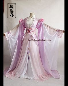 : Oriental Dress, Oriental Fashion, Pretty Dresses, Beautiful Dresses, Traditional Dresses, Traditional Chinese, Fairy Dress, Beautiful Costumes, Fantasy Dress