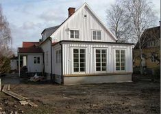 Swedish House, House Extensions, Scandinavian Interior, Interior Inspiration, Beautiful Homes, Living Spaces, Shed, House Ideas, Villa