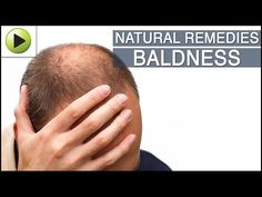 Cure Baldness Using Natural Home Remedies