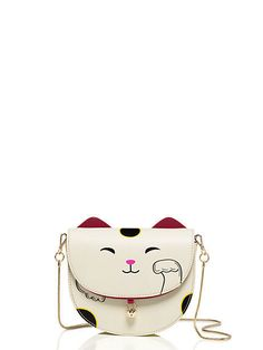 NWT Adorable Kate Spade RARE Tonti Street Cat Crossbody Sold Out Purse