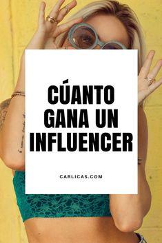 """¿Cuánto cobra un influencer en redes sociales?  Muchos de mis lectores viven intrigados por saber cuánto se gana en instagram, sobre todo aquellos que creen que instagram paga por """"tener seguidores"""". #influencer #instagram #instagrampublidad #redessociales #redessocialesmarketing #marketingredessociales #marketingpublicidad #marketingdigital"""